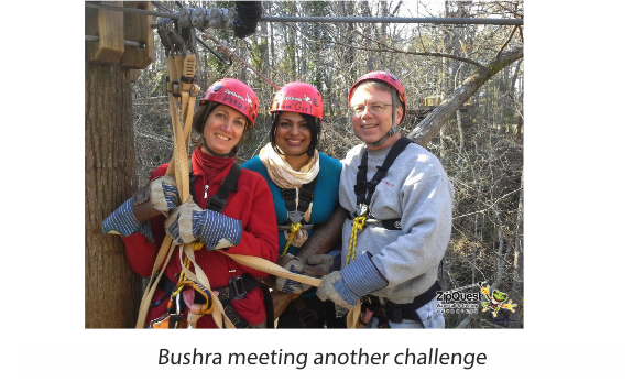 Bushra and Academic Colleagues