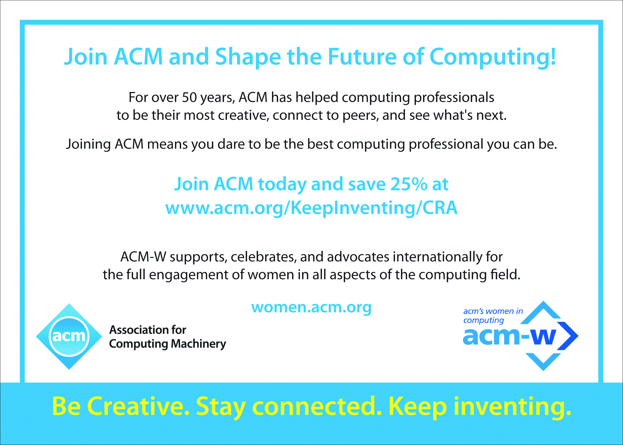 ACM ad for CRN