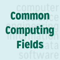 Undergraduate and Graduate Students Indicate the Computing Fields in Which They Intend to Earn Their Highest Degree