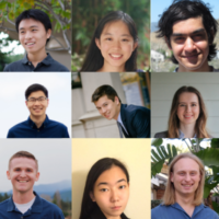 Undergrad researcher award winners 2021