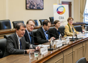 Panelists for Intelligent Infrastructure Briefing